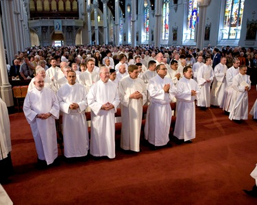 Permanent Diaconal Ordination, May 31, 2008.  Pilot photo/ Gregory L. Tracy
