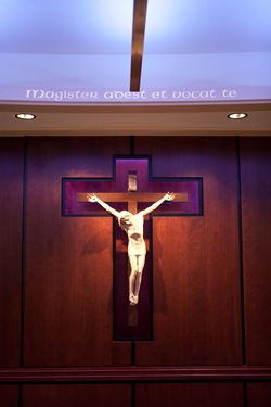 Archdiocese of Boston Pastoral Center's Bethany Chapel, dedicated Oct. 1, 2008.<br /> Pilot photo/ Gregory L. Tracy