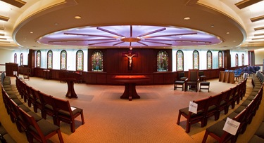 Archdiocese of Boston Pastoral Center's Bethany Chapel, dedicated Oct. 1, 2008.&lt;br /&gt;<br />