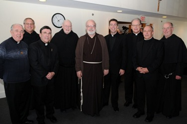 Cardinal Sean O'Malley at Merrimack College December 5, 2008.