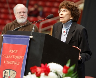Boston Catholic Women's Conference, April 19, 2009, Boston College's Conte Forum.   Pilot photo/ Gregory L. Tracy