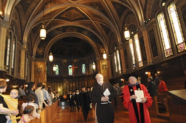 Commencement of Master of Arts in Ministry at St. John&#39;s Chapel at St. John&#39;s Seminary, Wednesday, May 20, 2009 in Brighton, Mass. (Photo by Lisa Poole)
