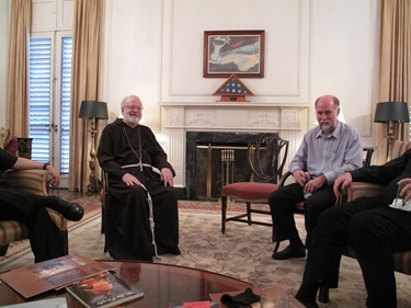 A delegation of three U.S. Catholic bishops, including Cardinal Sen P. OMalley visits Cuba on behalf of the U.S. Conference of Catholic Bishops, August 17-21, 2009.