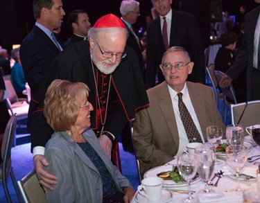 The Priest Appreciation dinner and celebration of the 25th anniversary of Cardinal Sean P. O'Malleys episcopal ordination, Sept. 16, 2009 at the Seaport-World Trade Center Boston. Pilot photo/ Gregory L. Tracy