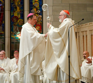 Cardinal O'Malley's jubilee Mass with priests of the archdiocese Sept. 24, 2009. Pilot photo/ Gregory L. Tracy