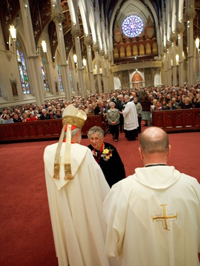 Second Annual Cheverus Awards presented at a celebration of Vespers Nov. 22, 2009 at the Cathedral of the Holy Cross. Pilot photo/ Gregory L. Tracy
