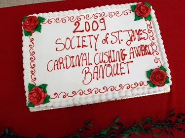 St. James Society Cushing Awards Banquet Nov. 8, 2009. Pilot photo/ Gregory L. Tracy