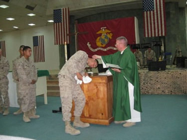 FrKennedy_Fallujah Baptisms