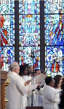 Litergy of Good Friday with Seán Cardinal O'Malley at the Cathedral of the Holy Cross in Boston, Friday, April 2, 2010. (Photo/Lisa Poole)