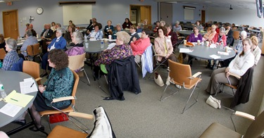 Meeting of pastoral associates, Archdiocese of Boston Pastoral Center, April 28, 2010. Photo by Gregory L. Tracy, The Pilot