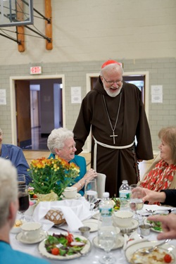Mass of Women Religious celebrating jubilees, Sept. 12, 2010 at St. Theresa's Church West Roxbury, Mass. Pilot photo by Gregory L. Tracy