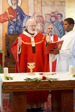 Opening Mass for 2010 academic year at Redemptoris Mater House of Formation in Brookline, Mass, Sept. 7, 2010. Photo by Gregory L. Tracy