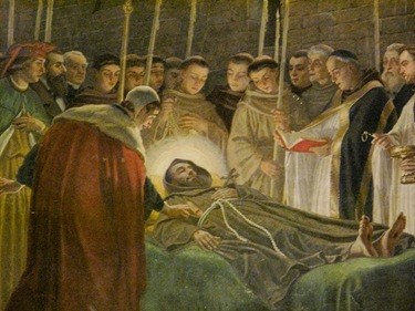 Image result for st francis of assisi dies
