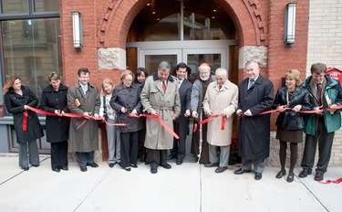 Dedication of the Archiocese of Boston Planning Office of Urban Affairs' Hayes development, Haverhill, Mass. Oct. 14, 2010. Photo by Jim Lockwood, The Pilot