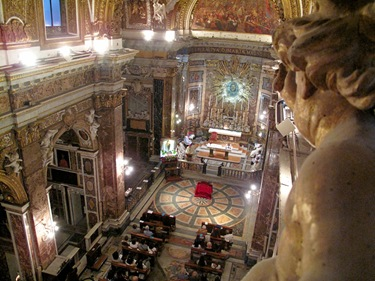 StaMdV-Santa Maria Della Vittoria From Choir Loft