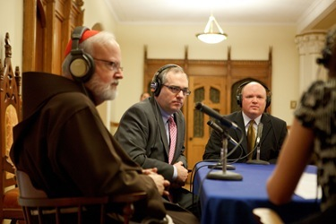 Mass and inaugural broadcast of WQM 1060 AM, Nov. 1 at the Cathedralof the Holy Cross. Pilot photo by Gregory L. Tracy