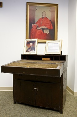 Bishop Cheverus' desk