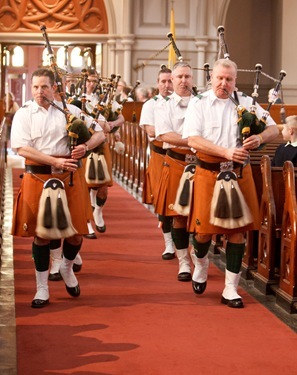 St. Patrick's Day Mass at the Cathedral of the Holy Cross, March 17, 2011. Photo by Gregory L. Tracy, The Pilot