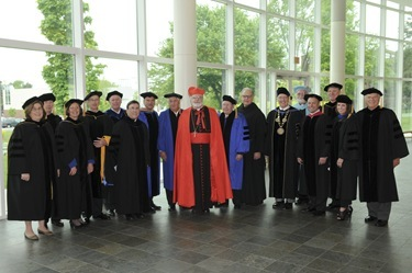 Merrimack College Commencement Sunday May 22, 2011.&#10;&#10;Photographer: Neal Hamberg