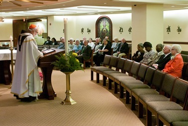 25th Jubilee Deacons May 17, 2011. Photo by Jim Lockwood/ The Pilot