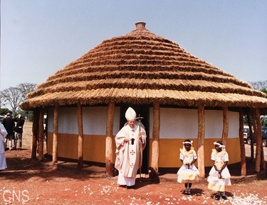 POPE VISITS UGANDA IN 1994
