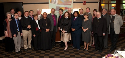 Boston faith leaders with The Presiding Bishop ECM-3092