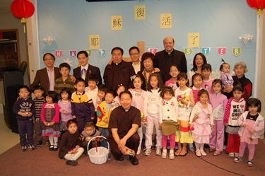 Chinese Community on Easter Sunday