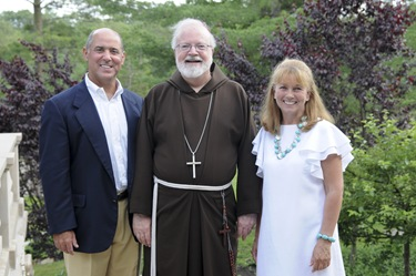 Leadership Circle event with Cardinal Sean at the Monaghan home in Hingham, MA Sunday June 26, 2011.