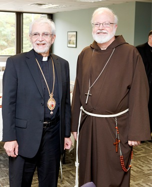 Provincial bishops meeting Oct. 12, 2011. Pilot photo by Gregory L. Tracy