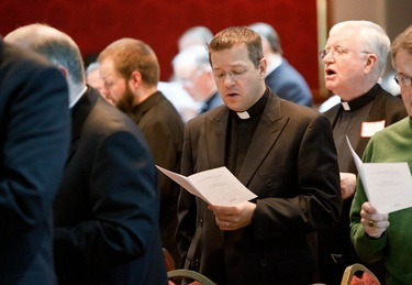 Priest convocation, Dec. 5, 2011, The Lanata in Randolph. Pilot photo/ Gregory L. Tracy