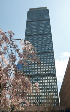 Boston&#39;s Prudential Tower overlooks the Hynes Convention Center, the site of the 2012 NCEA Convention. Pilot photo by Gregory L. Tracy