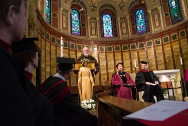 Master of Arts in Ministry program commencement, May 23, 2012. Pilot photo by Christopher S. Pineo