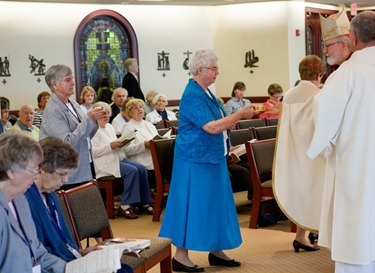 Mass with new superiors of Women Religious May 23, 2012. Pilot photo by Gregory L. Tracy