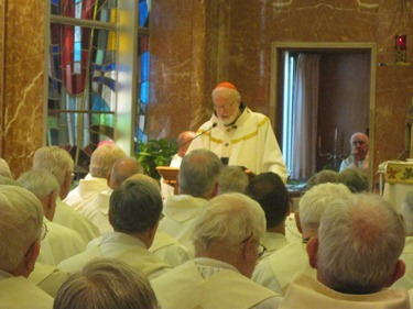 Jubiliarian Mass June 21, 2012. Courtesy photo&#10;