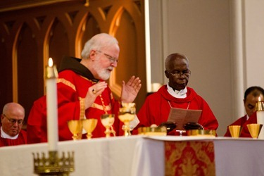 Members of the new ecclesial movement and realities celebrate the Pentecost Vigil with Cardinal Sean P. O'Malley at the Cathedral of Holy Cross May 26, 2012. Pilot photo/ Gregory L. Tracy