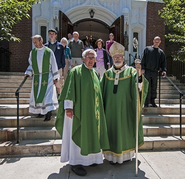 StAgnes_Father Steve &amp; Cardinal O&#39;Malley