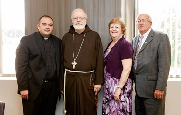Luncheon with newly ordained, June 27, 2012. Photo by Gregory L. Tracy, The Pilot