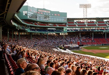 Mass at Fenway Park to mark the 150th anniversary of Boston College and Boston College High School Sept. 15, 2012. Pilot photo/ Gregory L. Tracy
