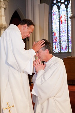Ordination of Permanent Deacons Robert C. Balzarini, Vincent Gatto, James T. Hinkle, Michael C. Joens, Jonathan Jones, Brian K. Kean, Thomas O'Shea, Louis J. Piazza, William K. Reidy, and Paulo Torrens, Sept. 22, 2012 at the Cathedral of the Holy Cross. 
