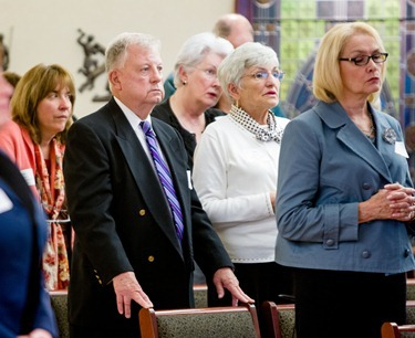 Appeal Coordinator appreciation Mass, Oct. 11, 2012.