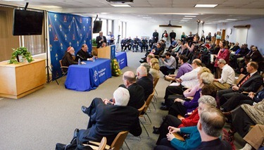 Press conference and Mass Nov. 9, 2012 marking the Pope's announcement that vicar general Msgr. Robert P. Deeley has been named an auxiliary bishop of Boston.