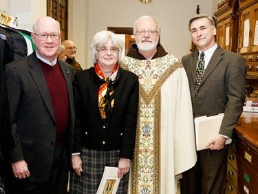 Cardinal Sean P. O'Malley celebrates Mass for pro-life leaders at the Franciscan Monastery in Washington D.C. Jan. 24, 2013. 