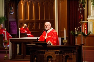 Cardinal Sean P. O'Malley celebrates Palm Sunday Mass March 24, 2013 at the Cathedral of the Holy Cross.&lt;br /&gt;&lt;br /&gt;&lt;br /&gt;&lt;br /&gt;<br /> Pilot photo by Christopher S. Pineo