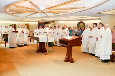 Mass with Silver Jubilarian Priests May 22, 2013.<br /> Pilot photo by Gregory L. Tracy