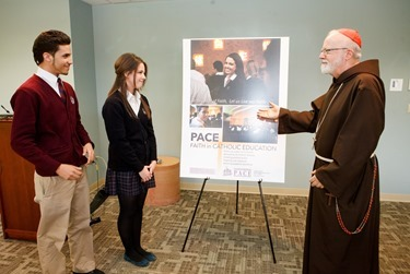 PACE poster unveiling, March 17, 2013.<br /> Pilot photo by Gregory L. Tracy<br />