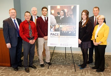 PACE poster unveiling, March 17, 2013.&lt;br /&gt;<br /> Pilot photo by Gregory L. Tracy&lt;br /&gt;<br />