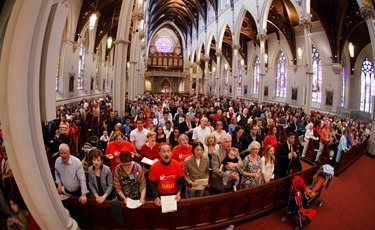 Pentecost Vigil celebrated by Cardinal Sean P. O'Malley at the Cathedral of the Holy Cross in Boston May 18, 2013.&lt;br /&gt;<br /> Pilot photo by Gregory L. Tracy