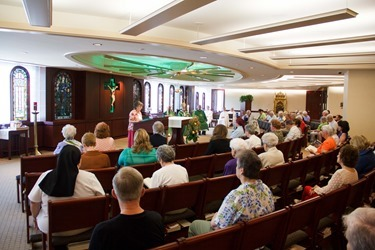 Mass and luncheon with consecrated virgins of the archdiocese, May 30, 2013.