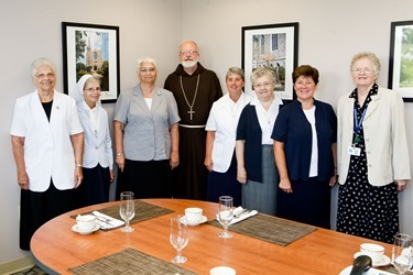 Meeting with Leadership team of the Sisters of the Presentation of Mary Aug. 1, 2013.