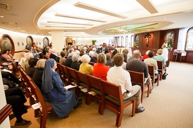 Pastoral Center 5th anniversary, noon Mass Oct. 10, 2013. 